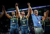 Slovėnai gali pakartoti pasiekimą, kurį paskutinė užfiksavo auksinė Lietuvos rinktinė