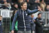 """""""Borussia"""" įsitrauks į kovą dėl """"Hoffenheim"""" stratego J.Nagelsmanno"""