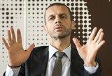 UEFA gali uždrausti vaikų futbole žaisti galva