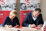 LKF ir LSU pasirašė bendradarbiavimo sutartį