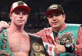 Nieko nelaukia: S.Alvarezas į ringą turėtų sugrįžti jau vasarį, aiškėja jo varžovas