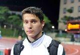 Kūjo metikas M.Šedys pasaulio jaunimo čempionate liko vos 44-as