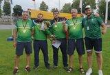 V.Ivaškevičius tapo Europos čempionu ir pagerino 46 metus gyvavusį pasaulio rekordą