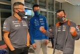 A.Juknevičius 2021 m. Dakarą palygino su loterija, D.Vaičiulis juokavo apie galimybę laimėti S.Peterhanselio komandoje