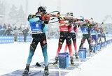 """Neįtikėtina pasaulio čempionato pabaiga: J.T.Boe ir J.Garaničevas """"sugriuvo"""" paskutinėje šaudykloje, D.Windischas sukūrė stebuklą"""