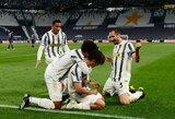 """C.Ronaldo pelnė įvartį, o """"Juventus"""" nugalėjo """"Napoli"""""""