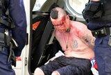 Prancūzijos policija ir toliau kovoja su anglų sirgaliais