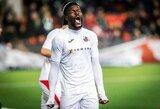 UEFA licencijos išduotos penkiems klubams