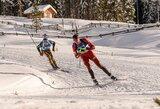 Pasaulio biatlono taurės estafetėje – fantastiškas V.Strolios startas