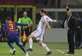 """J.Guardiola: """"Norint sustabdyti Z.Ibrahimovičių, mums reikalingos kopėčios"""""""