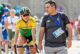 """Dviratininkė R.Leleivytė paskutiniame """"Giro d'Italia"""" etape – devinta"""