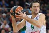 Pergalę iškovojęs M.Kalniečio ir S.Jasaičio klubas išsaugojo viltis prasibrauti į Eurolygos ketvirtfinalį