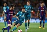 """Ispanijos Karaliaus taurės pusfinalyje – """"El Clasico"""" mūšis"""