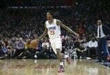 """""""Clippers"""" sutriuškino """"Celtics"""" 25 taškais, L.Williamsas tapo visų laikų rekordininku"""