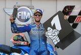 """Aragono GP: naujas čempionato lyderis, drastiškai sulėtėjęs F.Quartararo ir pirma """"Suzuki"""" pergalė"""