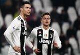 Italijos žiniasklaida: nepatvirtintą informaciją apie P.Dybalos teigiamą testą paviešino C.Ronaldo artimas šaltinis