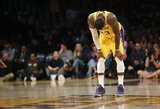 """Lakers"" ribos L.Jameso minutes"