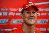 Nuo raumenų atrofijos ir osteoporozės kenčiančiam M.Schumacheriui bus atlikta dar viena operacija
