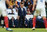 Turkijos treneris per rungtynes įrodė teisėjui, kad anglų įvartis buvo įmuštas iš nuošalės