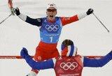 M.Bjoergen pakartojo legendinį O.E.Bjoerndaleno rekordą, K.Stochas pradžiugino lenkus (atnaujinta)