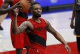 """Praėjusi savaitė NBA priklausė """"Raptors"""" ir """"Trail Blazers"""" lyderiams"""