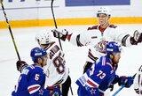 N.Ališauskas KHL pirmenybėse pelnė penktąjį sezono įvartį
