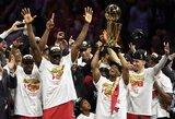 """""""Raptors"""" pirmą kartą tapo NBA čempione"""