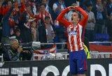 """A.Griezmannas atskleidė, kodėl atmetė """"Barcelona"""" komandos pasiūlymą ir liko rungtyniauti """"Atletico"""" ekipos gretose"""