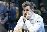 Kontroversija pasaulio čempionate – nuversta figūra neleido 16-mečiui nugalėti M.Carlseno