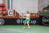 J.Mikulskytė nutraukė lietuvių nesėkmių seriją jaunių teniso turnyre Italijoje
