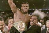 Senos žaizdos negyja: M.Tysonas apliejo vandeniu legendinį savo vadybininką