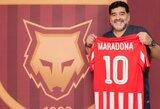 Oficialu: D.Maradona tęsia trenerio karjerą