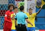 """A.Sheareris: """"Baudinys į belgų vartus neskirtas dėl ankstesnės Neymaro vaidybos"""""""
