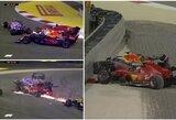 M.Verstappenas nesuvokė Ch.Leclerco elgesio, monakietis prisiėmė kaltę dėl avarijos