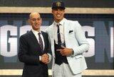Šeši didžiausi pirmojo NBA naujokų biržos rato laimėtojai