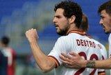 """""""Roma"""", """"Lazio"""" ir """"Fiorentina"""" šventė pergales Italijos čempionate"""