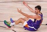 """D.Šaričius lieka žaisti """"Suns"""" komandoje"""