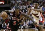 NBA savaitės žaidėjais pripažinti N.Robinsonas ir D.Lee