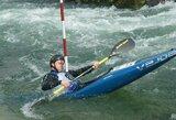 S.Mažeikis Makedonijos tarptautinėse baidarių ir kanojų slalomo varžybose – geriausiųjų šešetuke