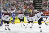 """""""Iššūkio"""" taurės ledo ritulio turnyre Latvijos rinktinė užėmė antrą vietą"""