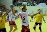 Lietuvos moterų rankinio rinktinė dar kartą nusileido lenkėms