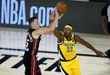 """""""Pacers"""" Rytų konferencijos serijoje patyrė antrąją nesėkmę"""