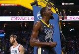 """""""Warriors"""" užtikrinta pergale nutraukė nesėkmių seriją"""