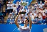 """N.Djokovičius po pusmečio pertraukos laimėjo ATP """"World Tour"""" serijos turnyrą"""
