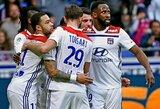 """M.Terriero vėlyvas įvartis padovanojo """"Lyon"""" pergalę prieš """"Rennes"""""""