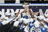 Įspūdingos pasakos pabaiga: Kanadą įveikusi Suomija po aštuonerių metų pertraukos iškovojo pasaulio čempionato auksą!
