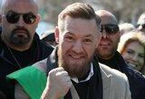 """C.McGregoras sklaido abejones dėl kitos savo kovos: """"Trilogija su Diazu įvyks"""""""