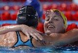 Australė A.Coutts pasaulio plaukimo čempionate per vieną vakarą iškovojo du sidabro medalius