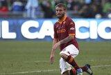 D.De Rossi – daugiausiai uždirbantis Italijos čempionato futbolininkas
