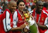 """Istorija grįžta: legendinis """"Arsenal"""" klubo žygis """"Premier"""" lygoje"""